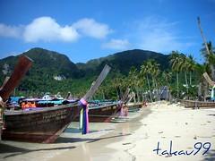 Ton Sai Bay Beach, Phi Phi Island Thailand