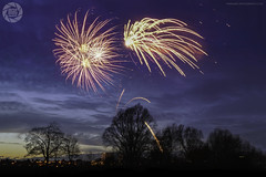 Worcester Fireworks (MAC-Photography.co.uk) Tags: fireworks colour evening sunset silhouette long exposure burst explosion worcester