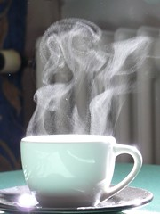 I made this cup of coffee and it danced by waɪ.tiː, on Flickr