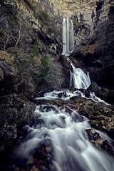 Nacimiento de Rio Mundo (Riópar) (Peideluo) Tags: water nature waterfall landscape longexposure largaexposicion cascada roca agua río