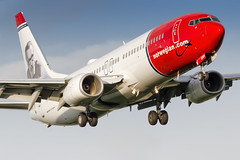 LN-DYP Norwegian Air Shuttle Boeing 737-86Q (buchroeder.paul) Tags: lndyp norwegian air shuttle boeing 73786q arn essa stockholm arlanda sweden europe final