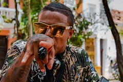 Rapman (s.bardury) Tags: job cool colombia art street personal show person man rap