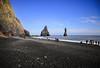 Reynisfjara (wyojones) Tags: iceland reynisdrangar reynisfjara rocks basalt beach blacksandbeach vík víkímýrdal southerniceland legends cliffs tourists trolls wedding ocean sea