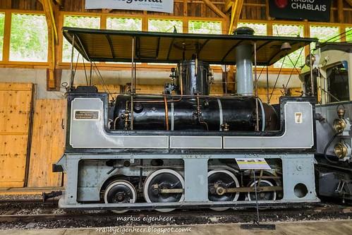 TM Kastendampflok G 2/4 N° 7 SLM 1882 Tramway Mulhouse