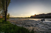 Agua, piedra y fuego / Water, stone and fire (tmuriel67) Tags: zamora duero river water citiscape contraluz douro sunset