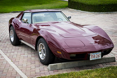 1977 Corvette (Burnt Umber) Tags: 1977 77 chevy chevrolette corvette mopar detroit american palm beach florida explorig car auto automobile crome bumper ©allrightsreserved tamron1750mmf28 pentax k5 digital