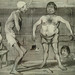 DAUMIER Honoré,1839 - Peur des Ecrevisses (Maison de Balzac) - Detail 1