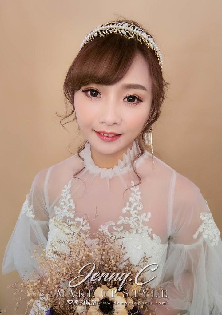 【新秘蓁妮】新娘造型創作 / 古典優雅造型