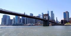 Brookln Bridge,, New York, USA. (Roly-sisaphus) Tags: nyc thebigapple unitedstatesofamerica