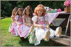 Kindergartenkinder ... (Kindergartenkinder 2018) Tags: schloss lembeck kindergartenkinder sanrike milina annemoni tivi annette himstedt dolls