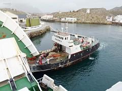 """""""Stetind"""" og """"Scan Pipe II"""" (OlafHorsevik) Tags: torghatten nord thn ferge ferje ferga ferja ferry skrova stetind scan pipe"""