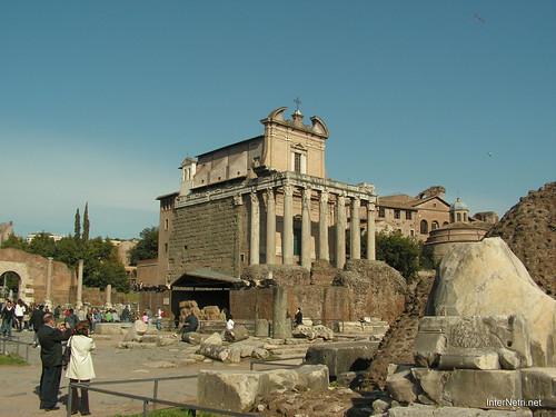 Римський форум, Рим, Італія InterNetri Italy 507