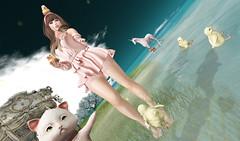 Kawaii ruffle (kyoka jun) Tags: ison sale clearance elikatira hair ruffle dress 50off 75off kawaii cute secondlife sl