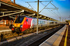 221107 - Rugby - 05/05/18. (TRphotography04) Tags: virgin trains west coast 221107 stand rugby early morning sun working 1b01 0550 birmingham new street london euston