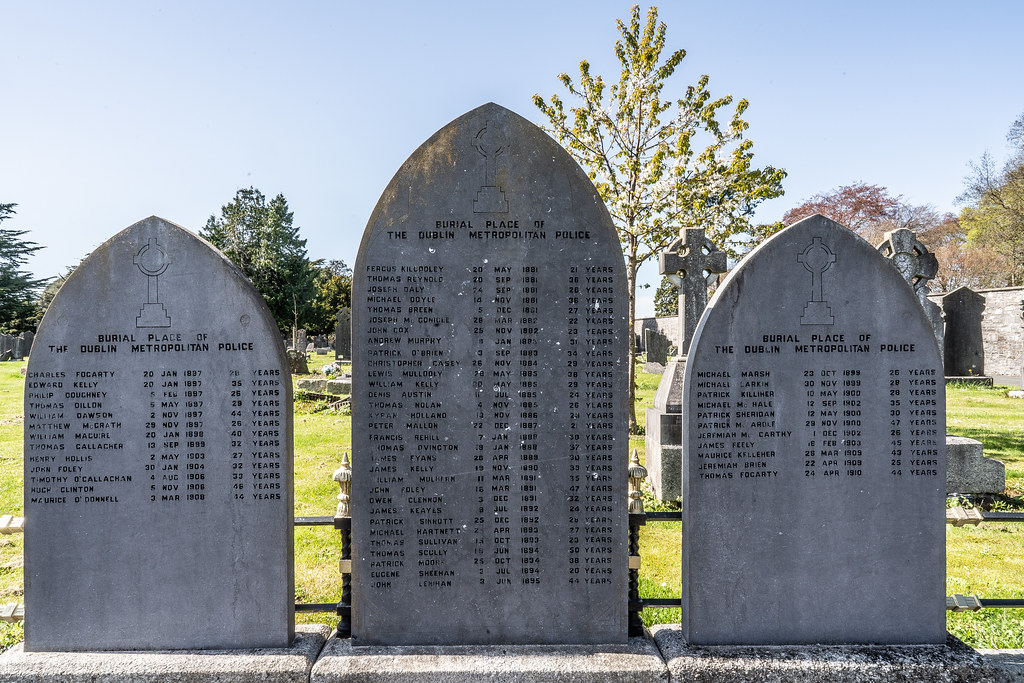 BURIAL PLACE OF THE DUBLIN METROPOLITAN POLICE [GLASNEVIN CEMETERY]-138860