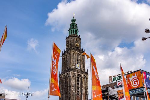 Feest in Groningen