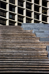 Funicular Geometry (Mister Day) Tags: concrete materials geometric stairs edmonton downtown
