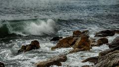Viéndolas venir (candi...) Tags: rocas olas mar agua naturaleza nature sonya77 airelibre piedras