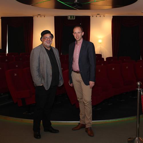 Besuch bei Werkstattfilm Oldenburg e.V. und Austausch mit dem Vorsitzenden, Farschid Ali Zahedi.