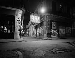 Havana @ Night (IV2K) Tags: longexposure mamiya mamiya7ii mamiya7 mediumformat night trix kodakfilm kodak kodaktrix havana habana lahabana cuba cuban kuba caribbean habanavieja blackandwhite bw