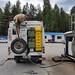 Enchendo o tanque reserva