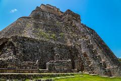"""Pyramid of the dwarf"" / ""Пирамида карлика"" (Vladimir Zhdanov) Tags: travel mexico yucatan sky uxmal maya ruins pyramid architecture"
