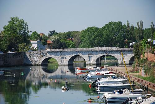 Ріміні Міст Тіберія InterNetri Італія 2011 171