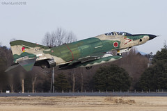 Japan Air Self Defence Force, McDonnell Douglas RF-4EJ Kai Phantom II, 57-6907. (M. Leith Photography) Tags: mark leith photography japan japanese self air defence force jasdf mcdonnell douglas phantom f4 ibaraki hyakuri sunshine base fighter nikon d7000 d7200 70200vrii 300mmf4 nikkor asia flying military sky building airplane cockpit aircraft jet