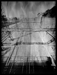 Railways (vincent-photo) Tags: caffenol brush negativepaper diy dijon fomarc foma homemade homemadecamera 13x18 largeformat analog alternative blackwhite bw