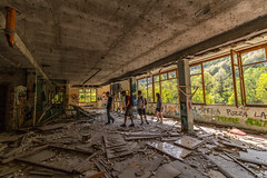 Consonno (Marta Panzeri) Tags: building trip friends people destroyed smashed abandoned ghost town ghosttown consonno brianza