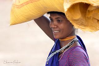 Elegance: Woman In Rural India
