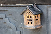 Hothouse (A Different Perspective) Tags: bali blue ceramic hang house lamp light ornament wall wire