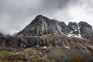 North Face of Ben Nevis  and CIC Hut 2018
