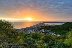 Chesil Beach (Chris Jones www.chrisjonesphotographer.uk) Tags: nature natural buildings trees academy sailing national coast coastline jurassic nikon colour sunset spring landscape ocean seascape sea photographer jones chris uk england west south dorset portland weymouth bank beach chesil