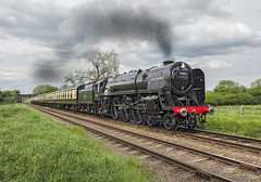 70013 (Geoff Griffiths Doncaster) Tags: 70013 woodthorpe gcr great central railway steam train oliver cromwell