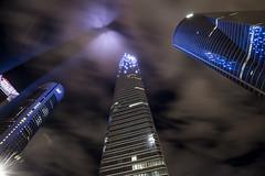 ROB_3230 (RobertoGomezFotografia) Tags: madrid madriz 4 torres tower towers nigth long longexposure arquitectura ligth lights spain nikon nikond800e eurostars cepsa kio