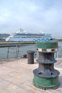 AIDAvita Cruise Ship in Belfast