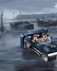 """I'm a driver, and I'm a flyer."" (Unkar's Thug) Tags: lego star wars solo movie han new release"