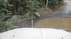 bloomfield1 (slackest2) Tags: 4wd bloomfield road cape tribulation wujal track water rainforest wet mountains trees toyota troopy