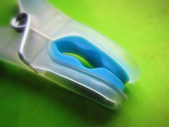 Plastic Peg (Julie (thanks for 9 million views)) Tags: hmm macromondays canonixus170 macro colourful 2018onephotoeachday plastic topazglow postprocessed