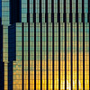 Minneapolis Geometry at Sunset (David M Strom -- Mostly Off and Very Busy) Tags: lines skyscraper panasonicg9 minneapolis reflections architecture minimal windows olympus40150 abstract davidstrom