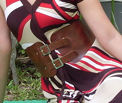 SDC11726 (ikat.bali) Tags: belt gürtel leder leather wide widebelt fashion amateur dress kleid fotomodell frau lady girl fetish outdoor breitegürtel photomodel