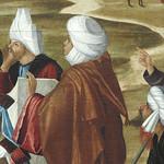 CARPACCIO Vittore,1514 - La Prédication de Saint Etienne à Jérusalem (Louvre) - Detail 031 thumbnail