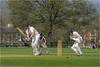 111.2 Forcing to leg (Dominic@Caterham) Tags: cricket players wicket pitch ball trees houses sky sunlight