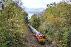 66055, Sutton Park (JH Stokes) Tags: 66055 class66 dbcargo diesellocomotives freightlocomotive freighttrains trains trainspotting tracks transport railways nikon photography suttoncoldfield suttonpark