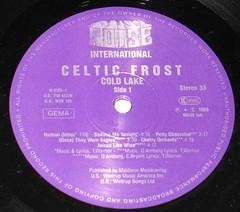 Celtic Frost Cold Lake (vinylmeister) Tags: vinylrecords albumcoverphotos gramophone lp heavymetal thrashmetal deathmetal blackmetal vinyl schallplatte disque album