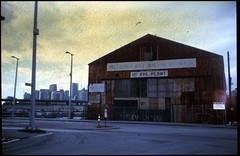 rusty hanger (Beaulawrence) Tags: film filmphotography analog slidefilm developedathome homedarkroom unicolor unicolour e6slide retrochrome eastman kodak vancouver diy pentax pointshoot cheapcamera