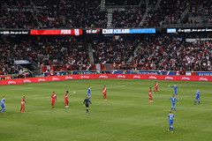 A view from our seats of the Peru/Iceland match (Hazboy) Tags: hazboy hazboy1 island peru iceland friendly game match football soccer futbol red bull arena harrison nj new jersey march 2018