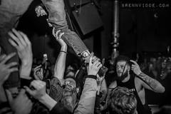 Frank Carter & The Rattlesnakes (morten f) Tags: frank carter rattlesnakes people live konsert concert 2018 norge norway oslo blå blaa tattoo monochrome punk rock sing audience publikum mic microphone punkrock crowdsurf
