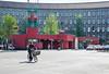 U-bahn (AstridWestvang) Tags: architecture berlin germany people station street ubahn